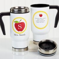 Teachers Inspire 14 oz. Travel Mug
