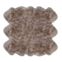 Fibre by Auskin Sheepskin 5' x 6' Area Rug in Brown