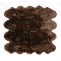 Fibre by Auskin Sheepskin 5' x 7'6 Area Rug in Morchella