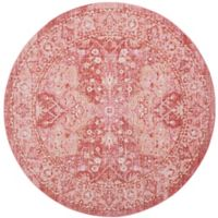 Safavieh Windsor 6-Foot x 6-Foot Allegra Rug in Rose
