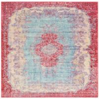 Safavieh Windsor 6-Foot x 6-Foot Nara Rug in Light Blue