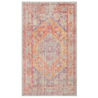 Safavieh Windsor 4-Foot x 6-Foot Laila Rug in Grey