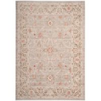 Safavieh Windsor 4-Foot x 6-Foot Lydia Rug in Light Grey