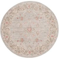 Safavieh Windsor 6-Foot x 6-Foot Lydia Rug in Light Grey