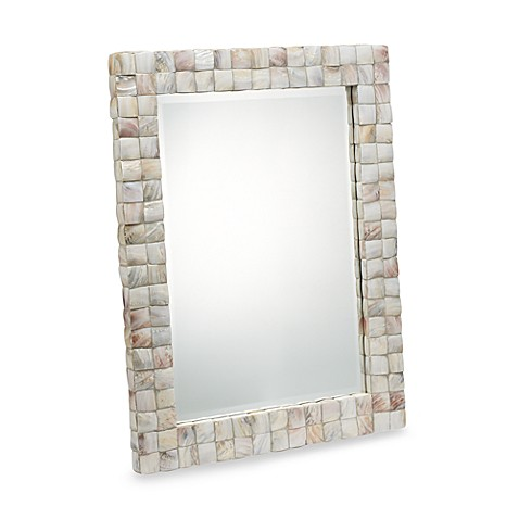 Buy uttermost vivian wall mirror from bed bath beyond for Where can i buy bathroom mirrors