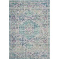 Safavieh Windsor Samara 9-Foot x 13-Foot Area Rug in Spa