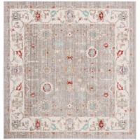 Safavieh Windsor 6-Foot x 6-Foot Yasmin Rug in Light Grey