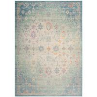 Safavieh Windsor 4-Foot x 6-Foot Angelina Rug in Seafoam