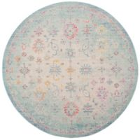 Safavieh Windsor 6-Foot x 6-Foot Angelina Rug in Seafoam