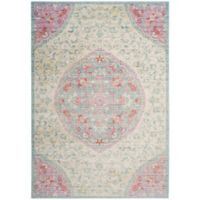 Safavieh Windsor 4-Foot x 6-Foot Claudine Rug in Light Grey