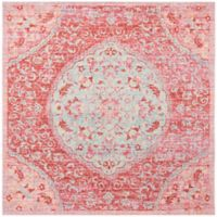 Safavieh Windsor 6-Foot x 6-Foot Claudine Rug in Rose