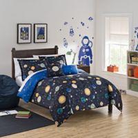 Waverly Kids Space Adventure 3-Piece Full Comforter Set in Black