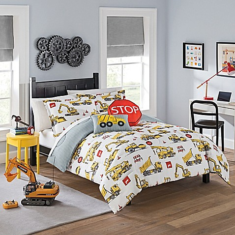 Image Of Waverly Kids Under Construction Comforter Set