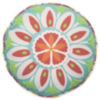 Waverly Kids Wild Card Embroidered Round Throw Pillow