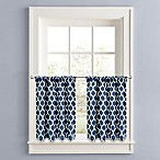 Morocco 36-Inch Window Tier Pair in Navy