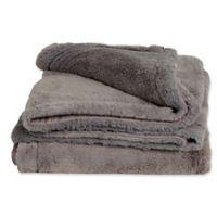 Cariloha® Plush Throw Blanket in Graphite