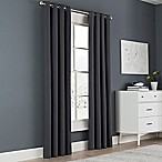 Newport 54-Inch Grommet Top Window Curtain Panel in Charcoal