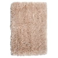 Alpine Shag 2'6 x 4'2 Accent Rug in Taupe