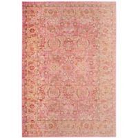 Safavieh Windsor Victoria 4-Foot x 6-Foot Area Rug in Pink