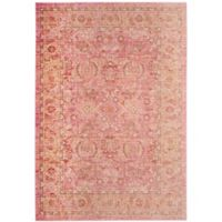 Safavieh Windsor Victoria 5-Foot x 7-Foot Area Rug in Pink