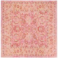 Safavieh Windsor Victoria 6-Foot Square Area Rug in Pink
