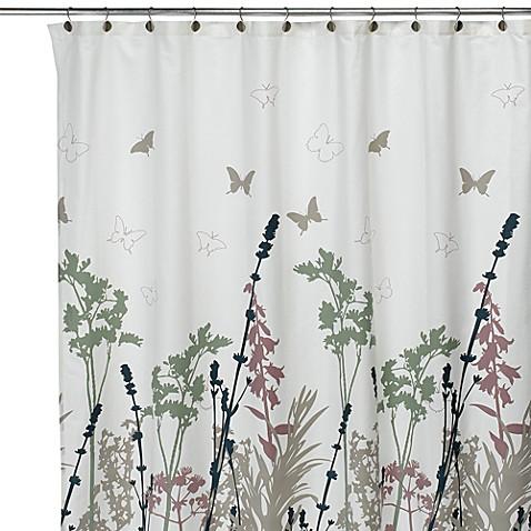Deco BainTM Reprieve Fabric Shower Curtain 100 Cotton
