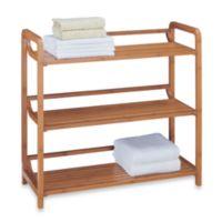 Neu Home Lohas3-Tiered Bamboo Shelf