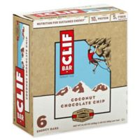 Clif Bar® 6-Pack 2.4 oz. Coconut Chocolate Chip Energy Bar