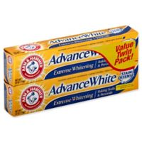 Arm & Hammer® Advance White® Twin Pack Extreme Whitening Stain Defense in Fresh Mint