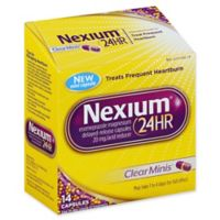 Nexium® 24 Hour Acid Reducer 14-Count Clear Minis 20 mg Delayed-Release Tablets