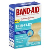Band-Aid® Skin-Flex™ 10-Count Finger Fit Adhesive Bandages