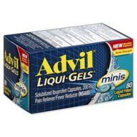 Advil® Liqui-Gels® minis 80-Count 200 mg Solubized Ibuprofen Capsules