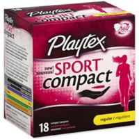 Playtex® Sport® 18-Count Unscented Regular Compact Tampons