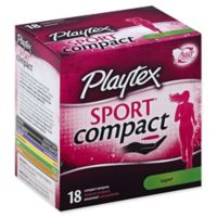 Playtex® Sport® 18-Count Unscented Super Compact Tampons