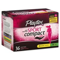 Playtex® Sport® 36-Count Unscented Regular/Super Compact Tampons