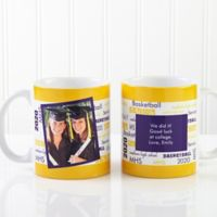 School Spirit 11 oz. Graduation Mug in White