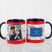 School Spirit 11 oz. Graduation Mug in Blue