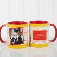 School Spirit 11 oz. Graduation Mug in Red