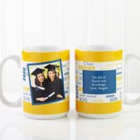 School Spirit 15 oz. Graduation Mug in Pink