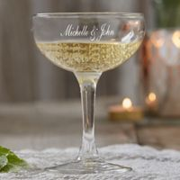 Wedding Champagne Coupe Glass