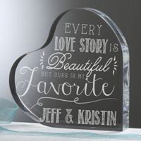 Love Quotes Heart Keepsake