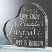 Love Quotes Heart Keepsake