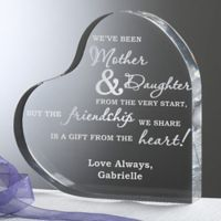 Mother and Daughter Heart Keepsake
