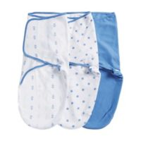 aden® by aden + anais® Newborn Swaddles in Ocean Breeze (Set of 3)