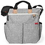 SKIP*HOP® Duo Signature Diaper Bag in Grey Melange