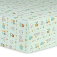 Trend Lab® Southwest Adventures Flannel Fitted Crib Sheet