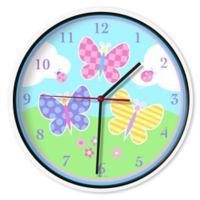 Olive Kids Butterfly Garden Wall Clock