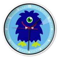 Olive Kids™ Monsters Wall Clock