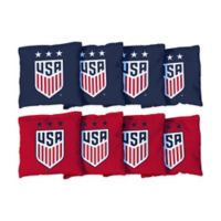 US Women's Soccer Regulation Cornhole Bags (Set of 8)