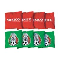 Mexico National Team Regulation Cornhole Bags (Set of 8)